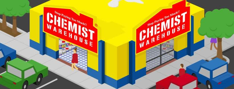 Chemist Warehouse Header Image