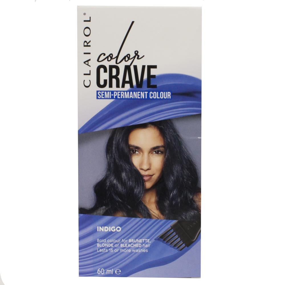 Clairol Crave Semi Permanent Hair Colour Indigo 60ml HOT DEAL $4.97