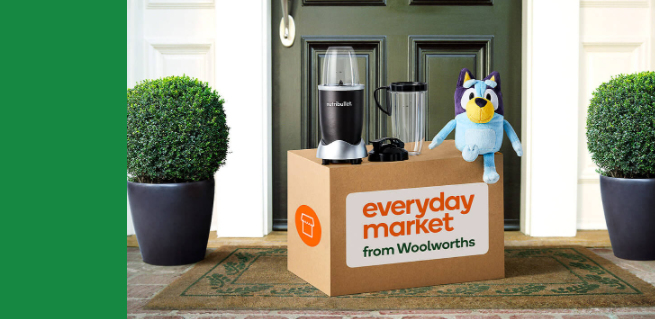Up to 33% OFF on Woolworths Everyday market launch partner offers from BIGW, Pet Culture & more