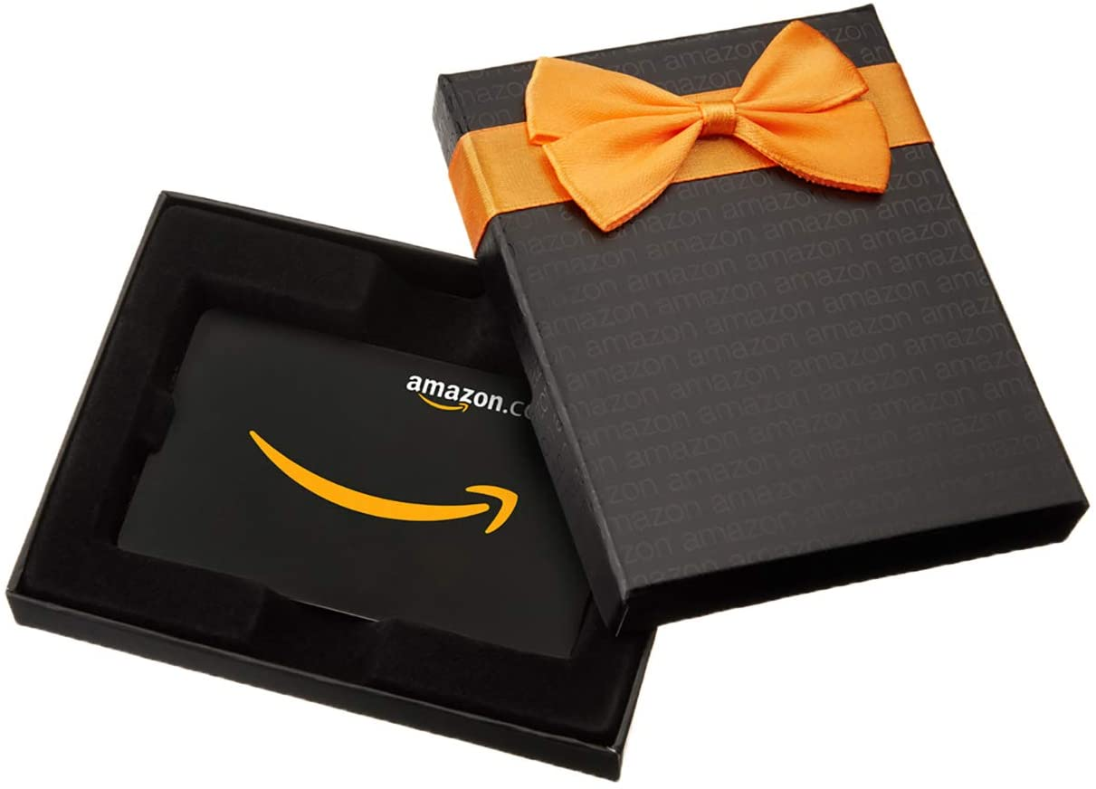 Amazon get $5 promo credit when you buy $50 or more on gift cards with coupon