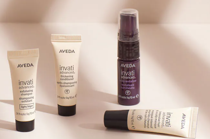 Choose your Invati advanced sample set with free shipping for $100+ order
