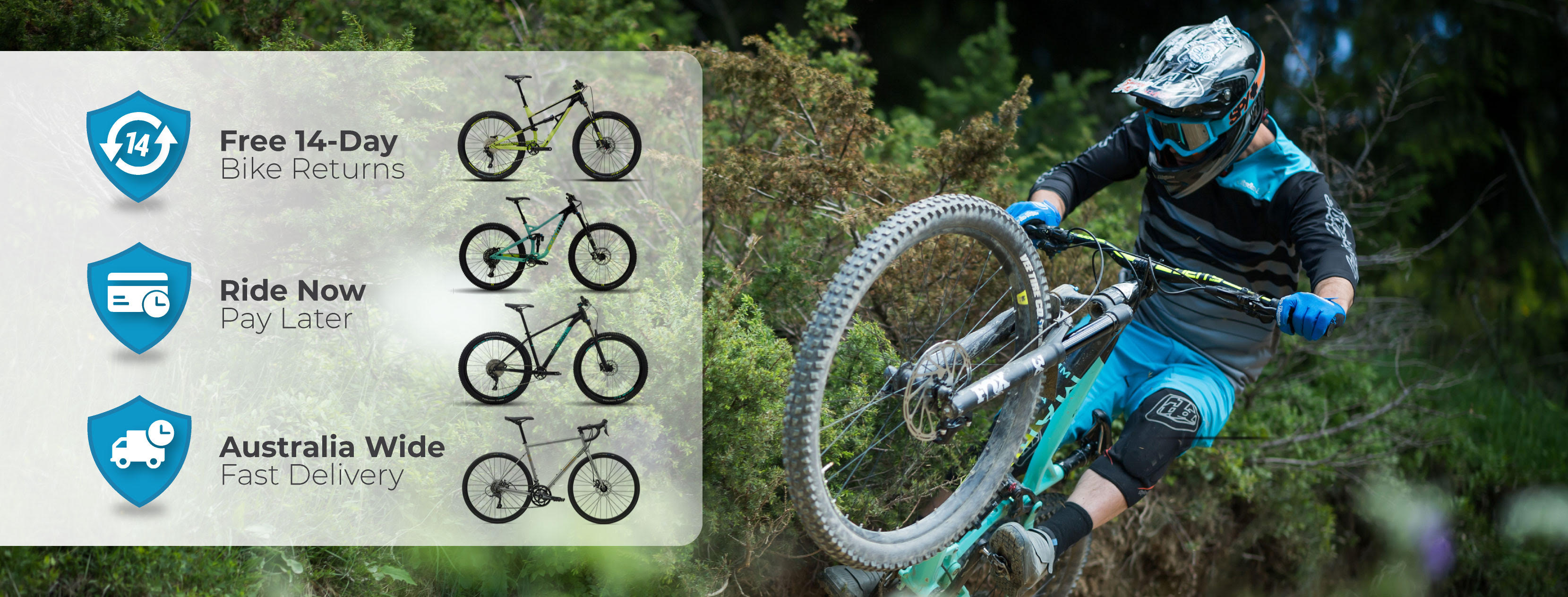 Bicycles Online up to 40% OFF on sale bikes and parts