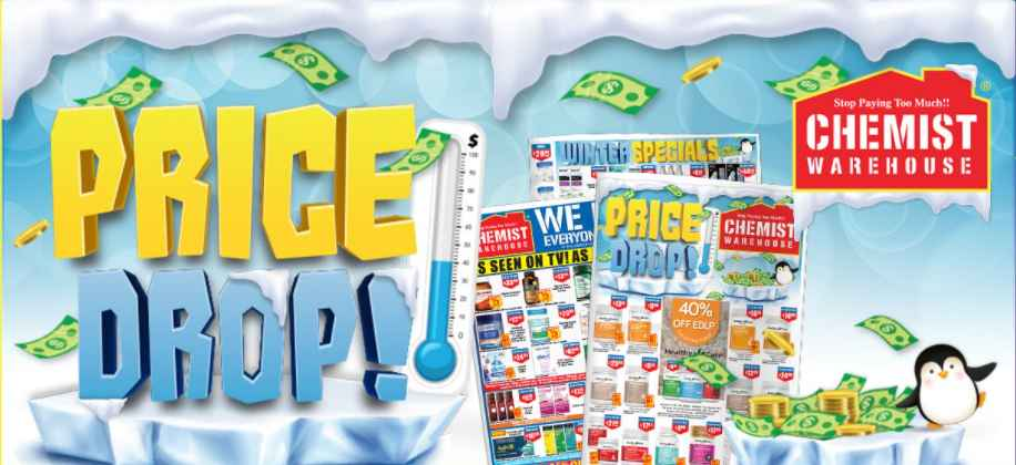 $5 OFF with min. spend $150 at Chemist Warehouse