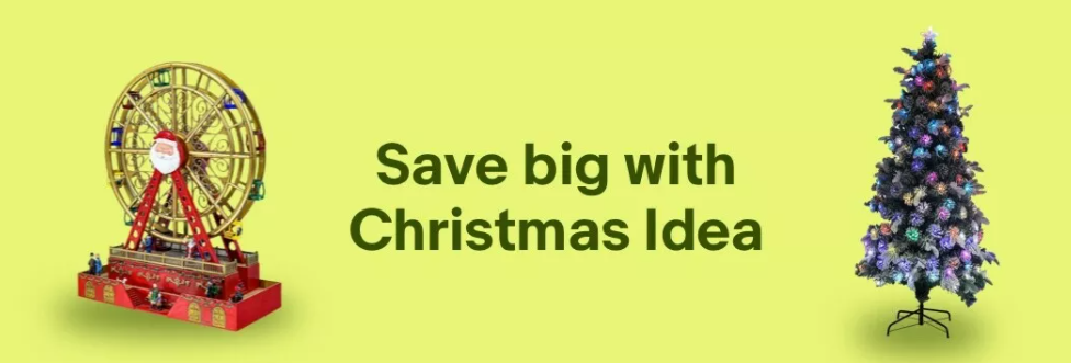 eBay Christmas Ideas extra $10 OFF on orders over $100 with voucher code