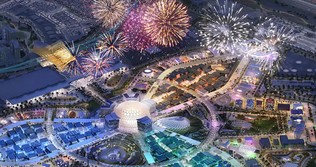 Etihad Airways get a complimentary ticket to Expo 2020