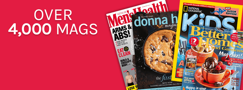 Get up to 81% OFF on Magazine subscription sale