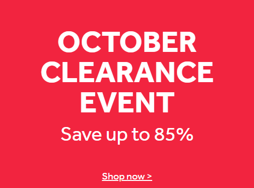 Nisbets up to 85% off selected products. End of line Clearance