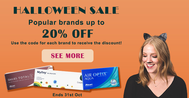 Get extra up to 20% OFF on popular brands with coupon. Halloween sale.