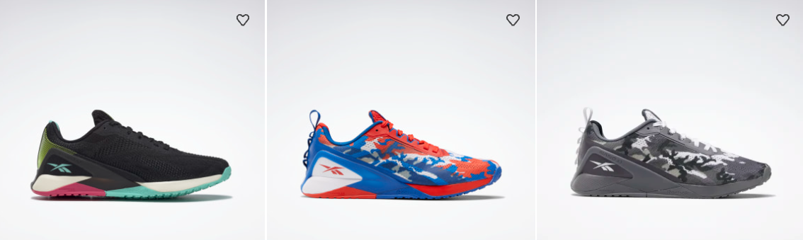 Reebok extra 25% OFF on select full priced items with promo code