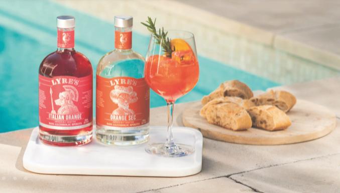 Get Free full size Lyre's Orange Sec with Italian Orange at Sans Drinks