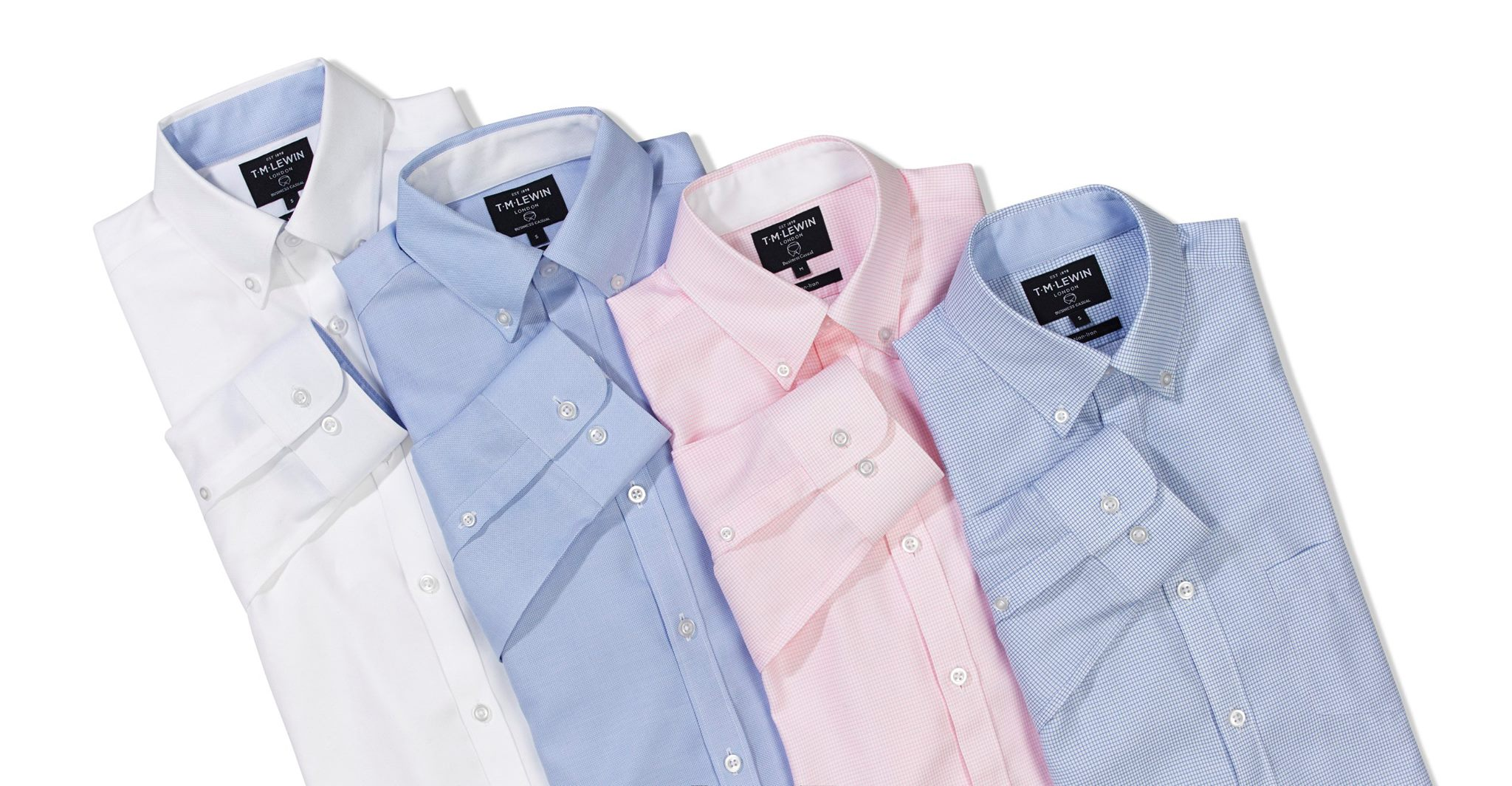 TM Lewin Shirts from $24. Clearance sale on now