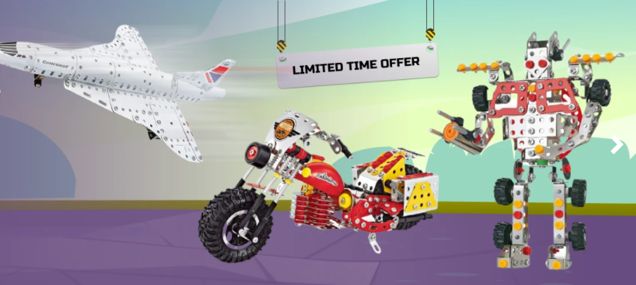 Flash Sale: 20% Off all Construct It products at Toy Universe