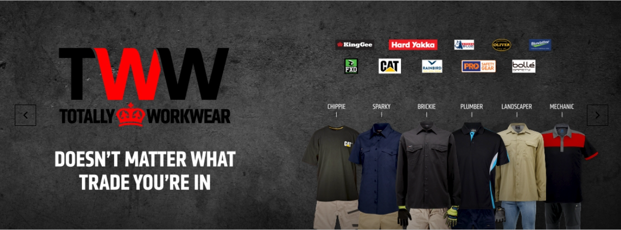 Shop Workwear & accessories from $7.95