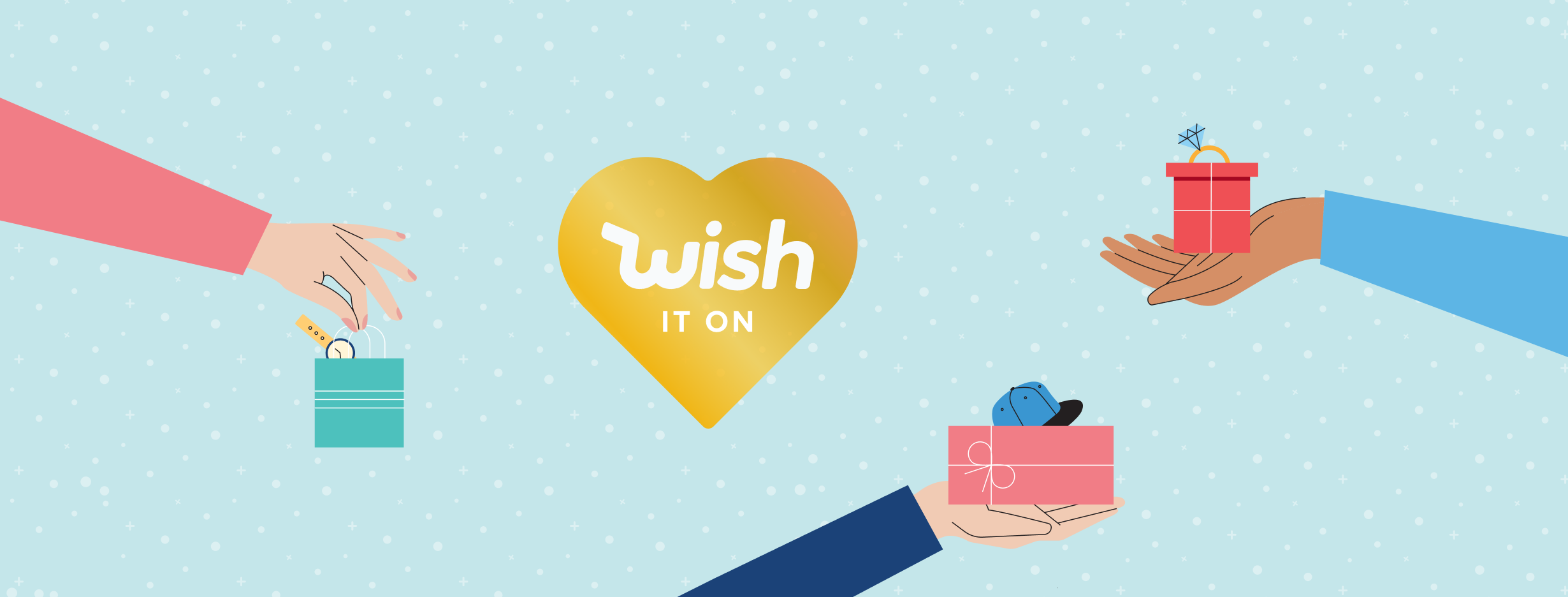 Wish receive up to $140 when you refer friends
